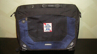 Ogio Jack Pack 03507 PBR Pabst Blue Ribbon Black Padded Laptop Messenger Bag