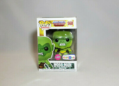 FUNKO POP! Masters of the Universe Moss Man# 568 Flocked Toys r us Exclusive