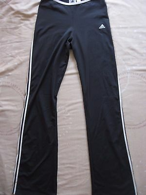 GIRL'S ADIDAS CLIMALITE TRAINING TRACK PANTS BOTTOMS TROUSERS Clima365 size 30""
