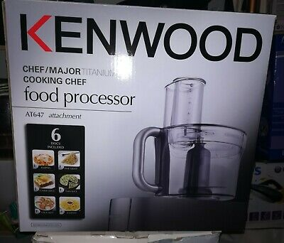 Kenwood chef food processor attachment AT647