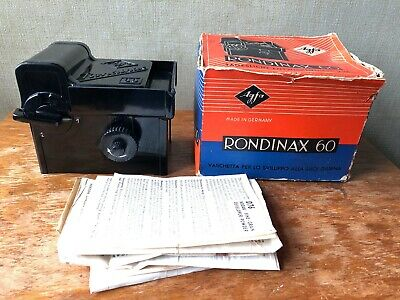 Agfa Rondinax 60 Daylight Film Developing Tank In Original Box