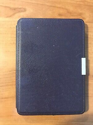 Original Amazon Kindle Paperwhite Genuine Purple Leather Case!