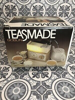 Vintage 70's Goblin Teasmade 853 Boxed With Instructions Perfect Working Order