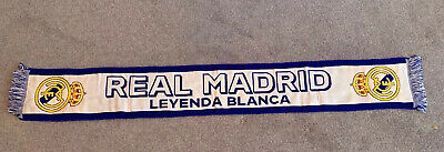 Real Madrid Football Scarf