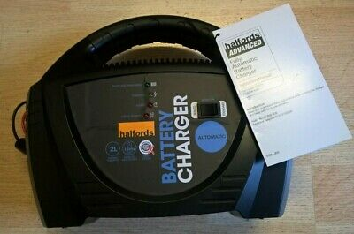 Halfords Automatic Battery Charger