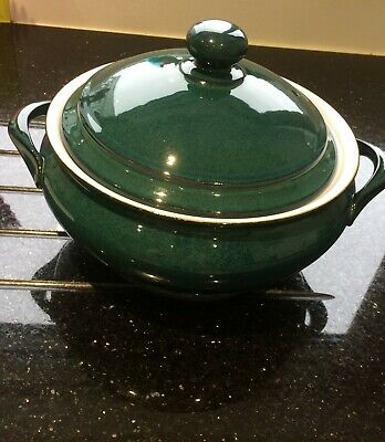 Denby Greenwich Round Serving Dish With Lid