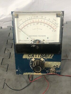 Electronic Voltmeter Commercial Trades And helipot precision potentiometer