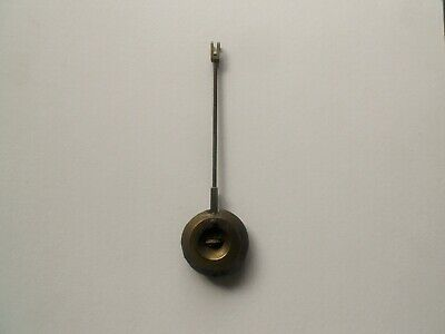 Antique Original French Clock Pendulum Adjustable Parts & Repair