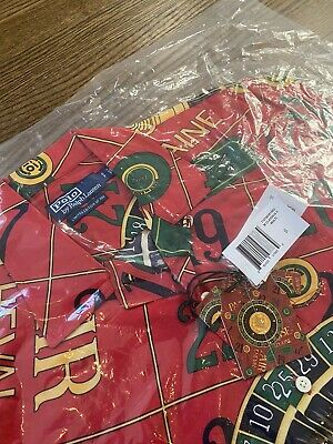Polo Ralph Lauren Casino Classic Caldwell Camp Shirt Red LIMITED TO 300 - SMALL