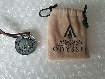 Assassins Creed Odyssey Limited Edition Collar Medallón - PS4 - Collectors Item