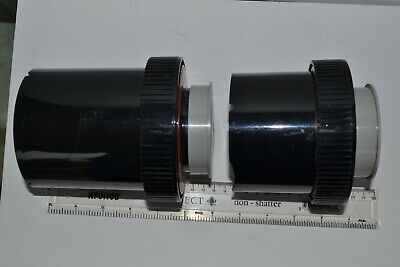 PATERSON Super System 4 Film Developing Tanks x 2. For 35mm or 126 film