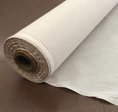 Natural 100% Cotton Muslin Fabric/Textile Unbleached Draping Fabric by the yard