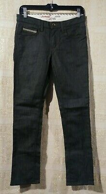 VANS Mens 28 x 28 Jeans Off The Wall Custom For You Denim Black Authentic NWOT