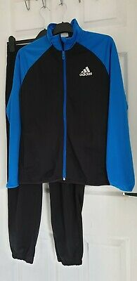 Adidas Boys Tracksuit Set Age 13-14 Years Excellent Cxondition