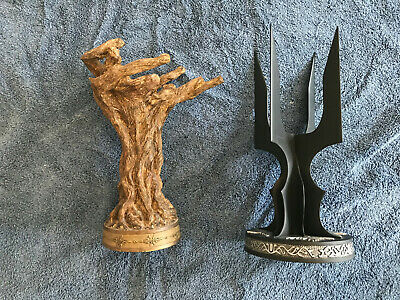 Lord of the Rings LOTR Saruman and Gandalf Staff Votive Candle Holders