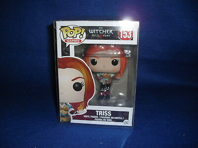 FUNKO POP Games The Witcher III TRISS 153 VAULTED w/ BOX PROTECTOR YENNEFER CIRI