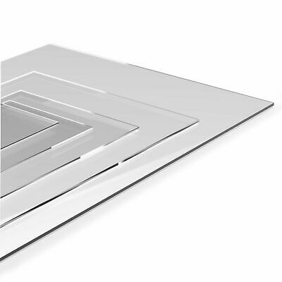 Acrylic Sheet Clear Cut To Size Perspex Panels Plastic Panel