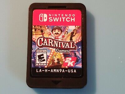 Carnival Games 2K Nintendo Switch - Game Cartridge Only