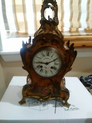 Japy Freres Antique French Clock Beautiful!!