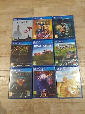 PS4 9 Mixed Brand New Games Manufacturerd Sealed **TOP TITLES** BARGAIN
