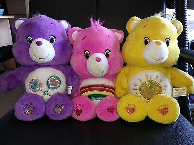 Share, Funshine and Cheer Care Bears Share Sing-a-long Talking Plush Toys