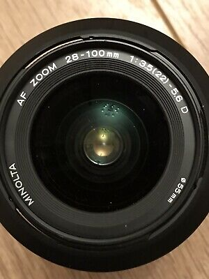 Minolta 28-100mm F/3.5-5.6 D AF Lens for Sony Alpha cameras