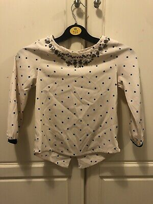 Lovely Girls Top / Blouse By Next Age 8