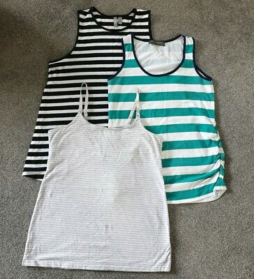 Maternity Clothes Bundle 12 And Large Vests Tops Summer breast feeding top