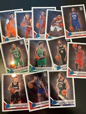2019-20 Panini Donruss Optic Rated Rookie Base Singles You Pick Rookies RC NBA