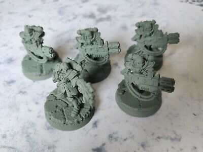 Adepta Sororitas Sisters of Battle Retributor Squad x5 Metal OOP