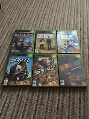 Xbox Original Games Bundle X 6 Complete With Manuals See Photos For Titles