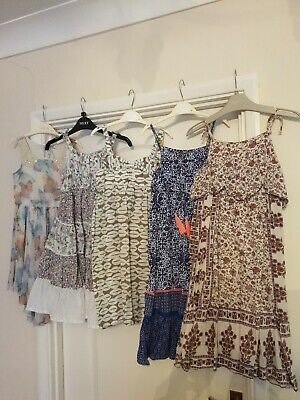 Girl's Large Bundle Ted Baker, NEXT, Monsoon etc Clothes Aged 6-7 Years dresses