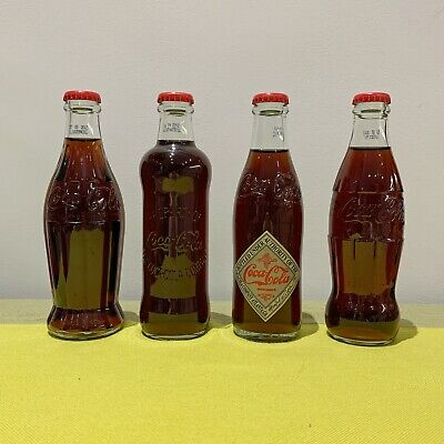 (NEW) Coca Cola 125 Years Anniversary Limited Edition Bottles (COMPLETE) Rare