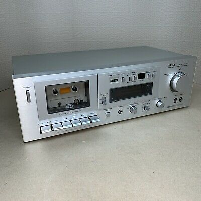 AKAI GX-M10 Rare Stereo Cassette Recorder - 1979 - JAPAN Tested Working