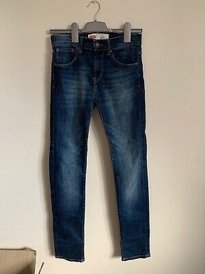 Boys Levis 510 Skinny Jeans Age 16 Immaculate