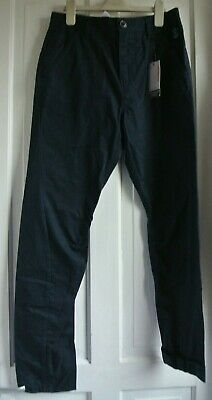 New Boys Next Twisted Fit Smart Trousers Navy size 13 years