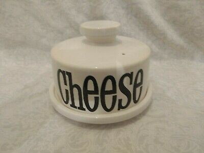 Vintage 1970s T G Green Spectrum Cheese Dome Dish England