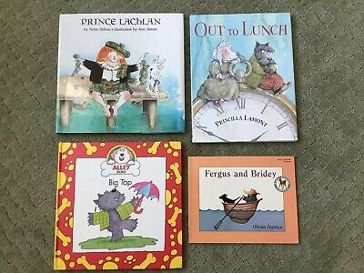 4 Scottish Terrier Scottie Scotty Dog Books - Excellent