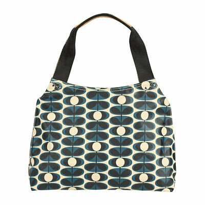 BNWT - Orla Kiely Indigo Retro Oval Flower Classic Shoulder Bag