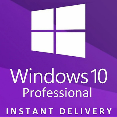 GENUINE WINDOWS 10 PRO PROFESSIONAL KEY LICENSE  - Instant Delivery////