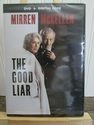 BRAND NEW: The Good Liar DVD. Still Wrapped in MFG Plastic!