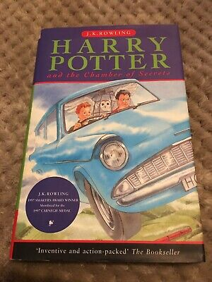 Harry Potter and The Chamber Of Secrets HB 1998 1st Edition 6th Print Ted Smart