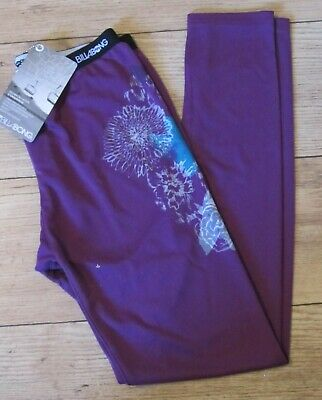Girls ~ Billabong ~ Base Layer ~ Bottoms  / Leggings ~ X Small ~ Purple ~Quality