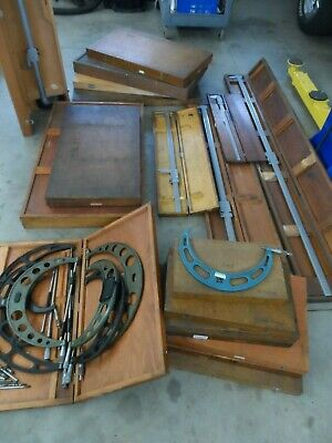 Large Lot of Micrometers, Verniers, Inspection Equip, Starrett, Machinist Tools