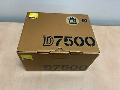 Nikon D7500 20.9MP Digital SLR Camera Body Only - Black