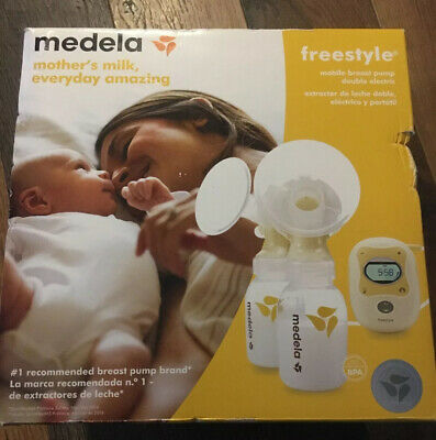 New In Box AUTHENTIC Medela Freestyle Mobile Double Electric Breast Pump