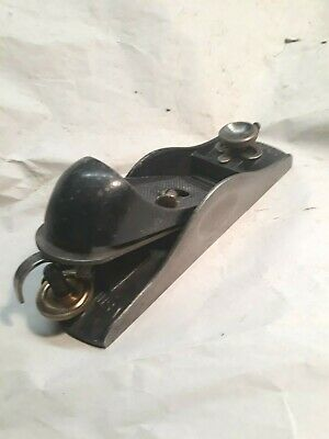 Vintage Stanley No.9 1/2 Adjustable Throat Block Plane, Ready to Use