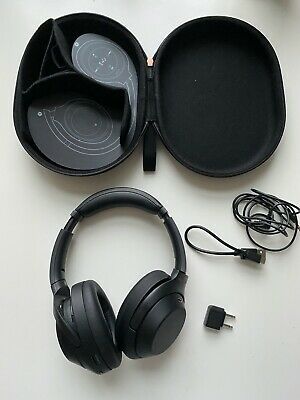 Sony WH-1000XM3 + 30 mth JB warranty Noise Cancelling Headphones Black Bluetooth