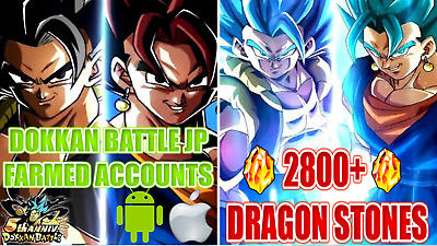💥Special Deal💥 2800+ Ds Dokkan Battle Account Jp/Jap Farmed