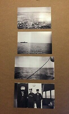 Collection of First Generation Photographs of RMS Titanic Iceberg, Site, Crew
